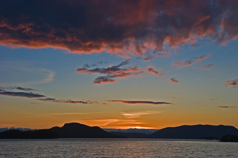 Sitka Summer Sunset