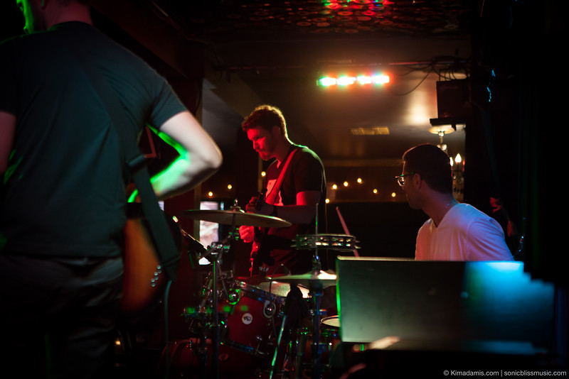 JAKE CARROLL-lead guitar and CHRIS DOMINICK-Drums (Lauren Roze) @ The Mint, Los Angeles, CA