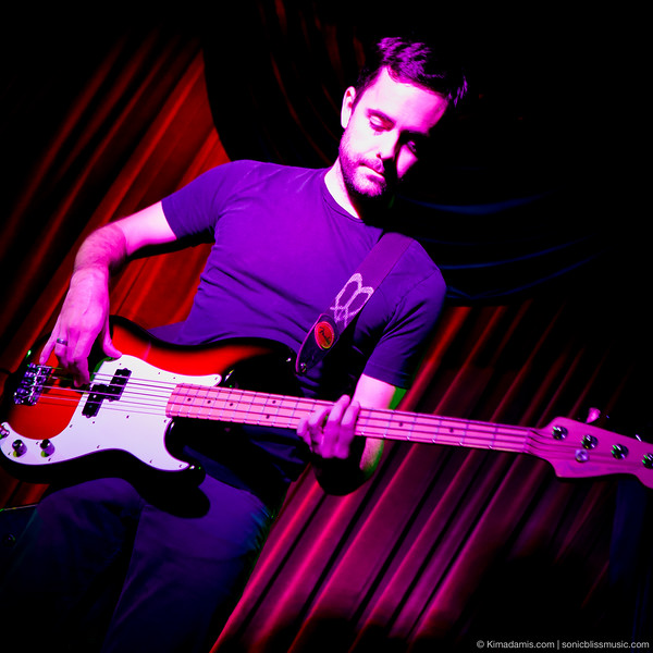 RYAN MALLOY - Bass (Lauren Roze) @ The Mint, Los Angeles, CA