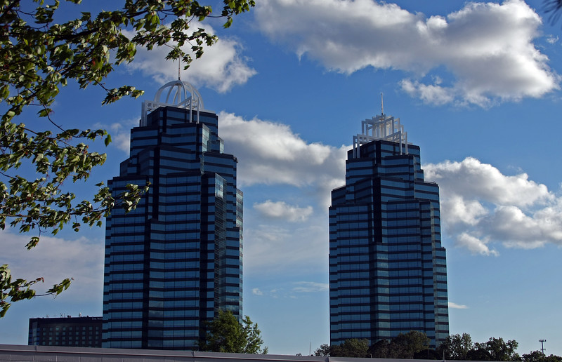 the King and Queen buildings Atlanta