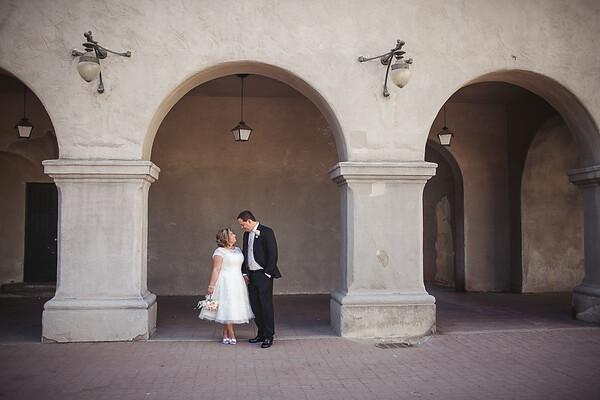 Luz & David Wedding - by Jill