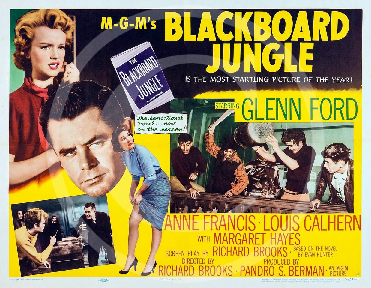 Blackboard Jungle 1955.