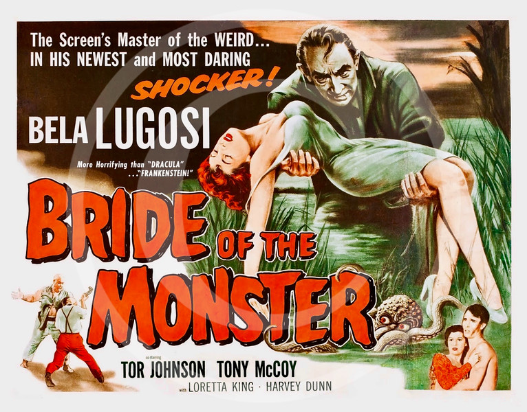 Bride of the Monster 1955.