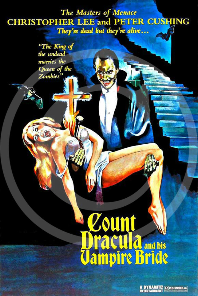 The Satanic Rites of Dracula released in the United States as Count Dracula and his Vampire Bride 1974