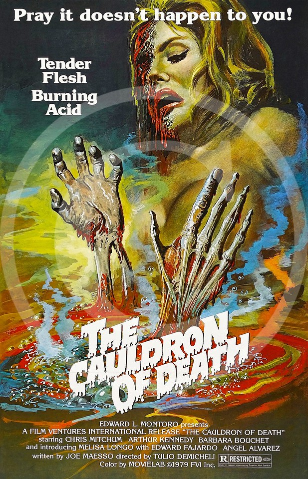 Ricco the Mean Machine also released as Cauldron of Death  1973