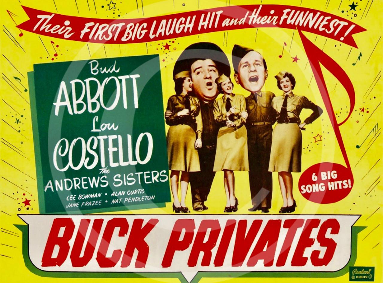 Buck Privates 1941.
