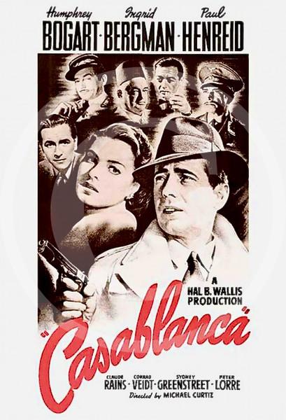Casablanca 1942.