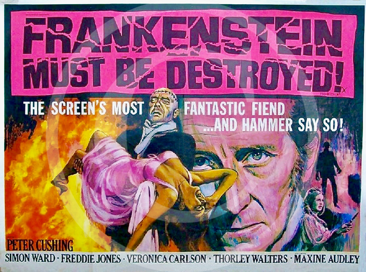 Frankenstein Must Be Destroyed 1969