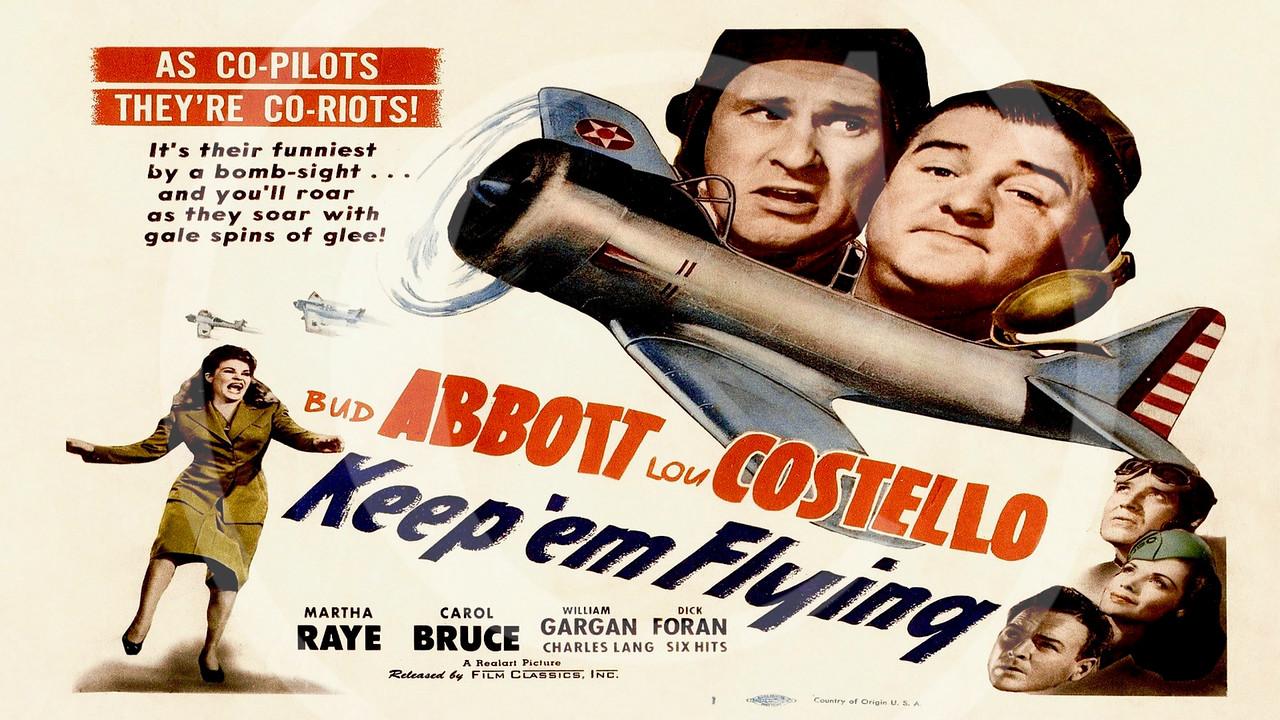 Keep 'em Flying 1941.