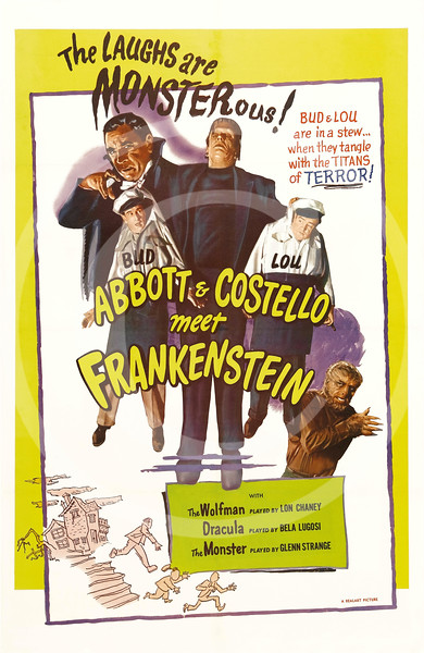 Abbott and Costello meet Frankenstein 1948.