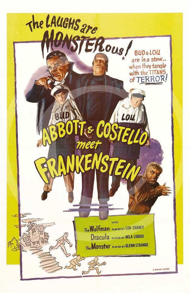Abbott and Costello meet Frankenstein 1948.