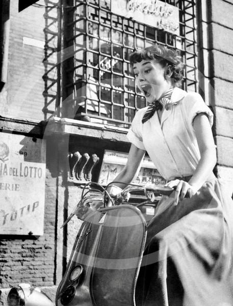 Audrey Hepburn, Roman Holiday 1953.