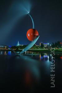 Sculpture Garden - Spoon City Tall