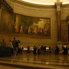 Taken in 2004 when non-flash photography was allowed.  Inside the rotunda at National Archives.