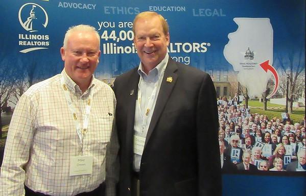 Mike Drews (left) and Doug Carpenter