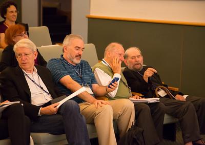 Tom Maniatis, Adrian Krainer, Mattew Meselson, Sydney Brenner