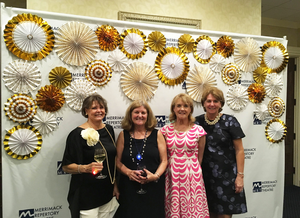 . From left, Karen Donahue of Tyngsboro, and Priscilla Scannell, Joellen Scannell and Trish O�Donnell, all of Lowell