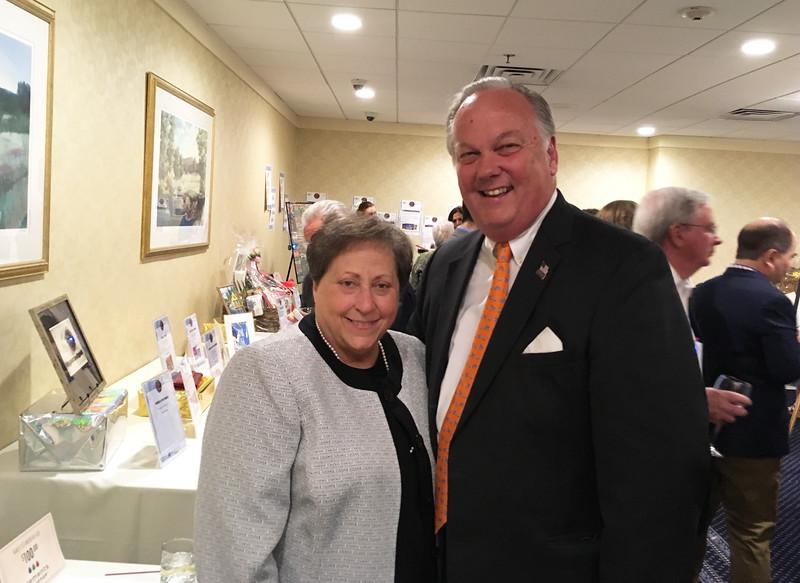 MRT board members Debra Grossman of Dracut and Jim O'Donnell of Lowell