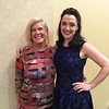 Kathy Daniels of Florida and MRT actress Kristen Mengelkoch of New York City