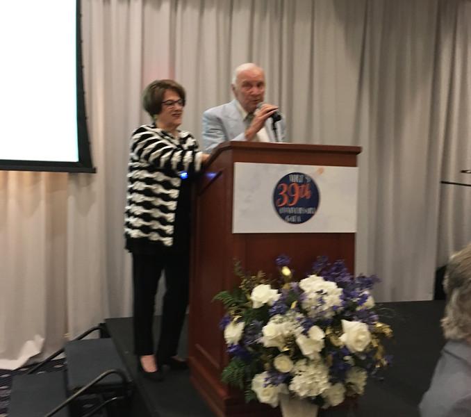 MRT gala co-Chairs Ann Kazer and Tom Larkin