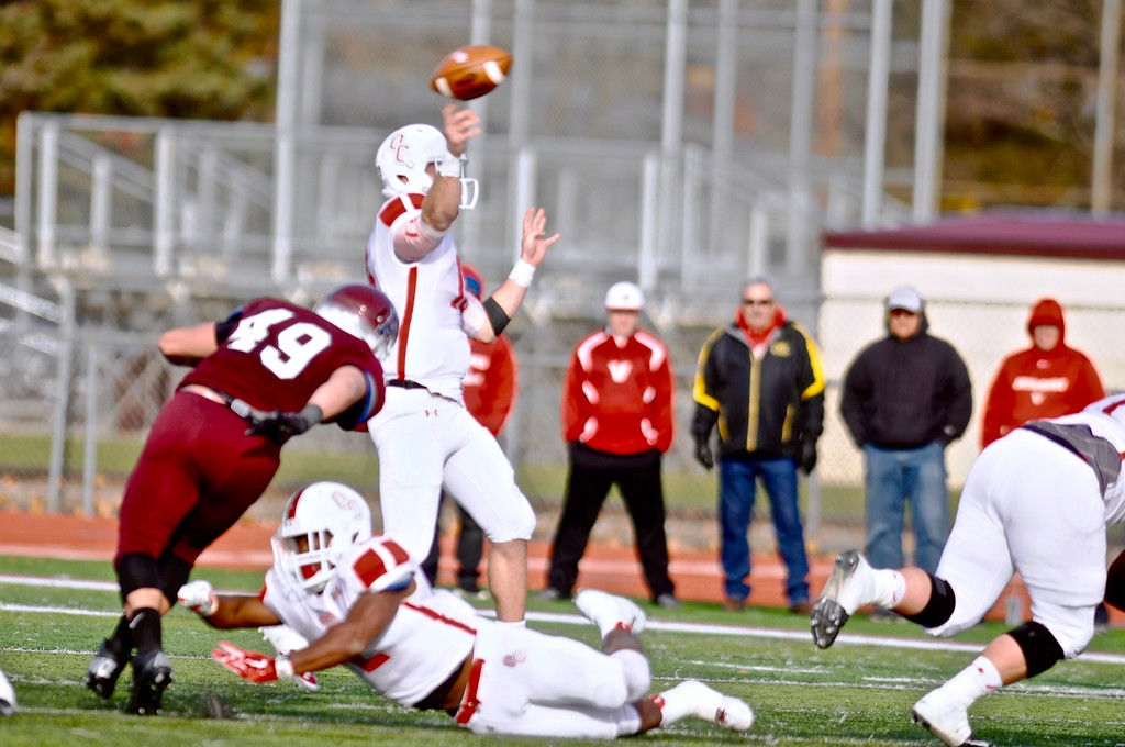 . PAUL KENNETH BEROZA -- THE MORNING SUN Alma College\'s season came to an end on Saturday as it fell to Olivet.