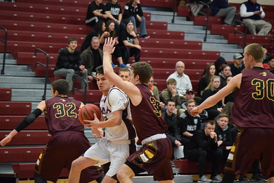 Alma College men's team had a record-setting season in 2015-16. This season they have been decimated by injury but still have grand plans. (PHOTOS BY ZACH HANSON)