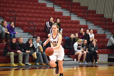 The Alma College women's team enters Sunday's game at 4-12 overall and at 3-5 in MIAA play. They tip Sunday at 1 p.m. (SUN PHOTOS BY ZACH HANSON)