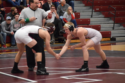 The Alma College wrestling team plays host to the Alma Open invite Saturday. Action starts at 9 a.m. (SUN PHOTOS BY ZACH HANSON)