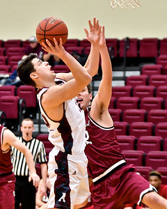 Alma College dropped a non-conference game to visiting North Central College of Illinois Friday, Dec. 15, 2017. (Sun photo gallery by Skip Traynor)