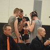 Alma lost 42-27 to host Chesaning Thursday, February 9, 2017, in a Division 3 district final. MIPrepZone Photos by Nate Schneider.