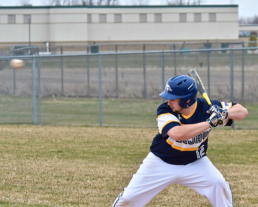 Alma and Shepherd played two close games at Alma Tuesday, April 24, 2018. (Sun photo gallery by Skip Traynor)
