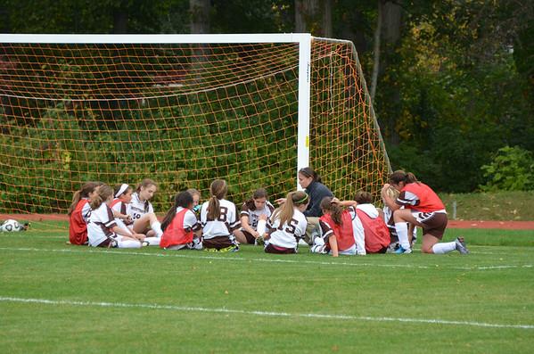 2012 MS Girls Soccer A vs. Delaware County Christian