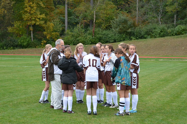 2012 MS Girls Soccer B vs. Delaware County Christian