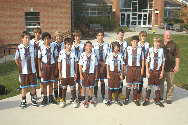 2010-2011 Fall MS Team Photos