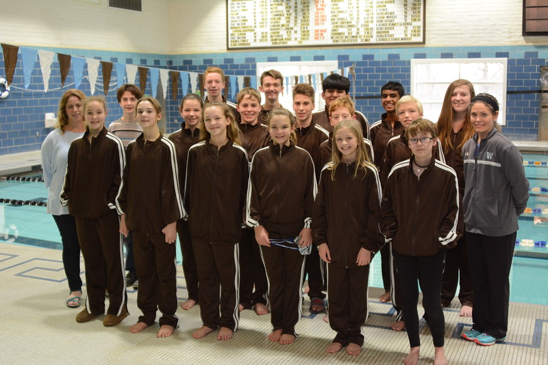 2016-2017 Middle School Swimming
