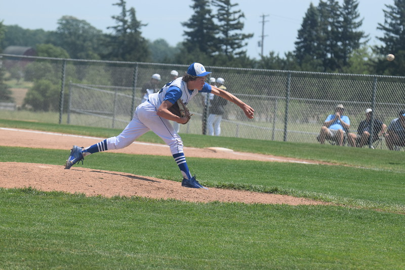 Beal City lost 14-12 to Muskegon Catholic Central Saturday, June 10, 2017, in a Division 4 regional title game. The Aggies defeated Brethren 13-3 in six innings in the semifinals. MIPrepZone Photos by Nate Schneider.
