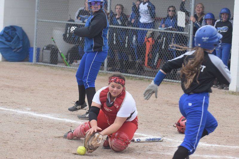Beal City swept host Sacred Heart Thursday, April 27, 2017, by scores of 12-1 and 13-8. MIPrepZone Photos by Nate Schneider.