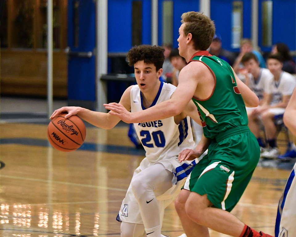 . Beal City took down visiting Sacred Heart in a non-conference rivalry Tuesday, Feb. 6, 2018. (Sun photo gallery by Skip Traynor)