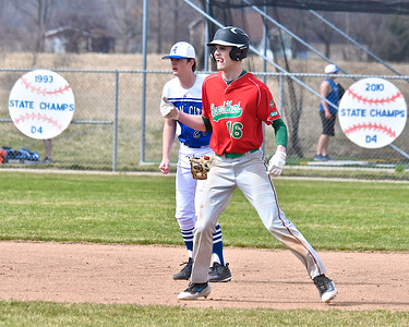 Beal City and Sacred Heart Academy split a doubleheader at Beal City Thursday, April 26, 2018. (Sun photo gallery by Skip Traynor)