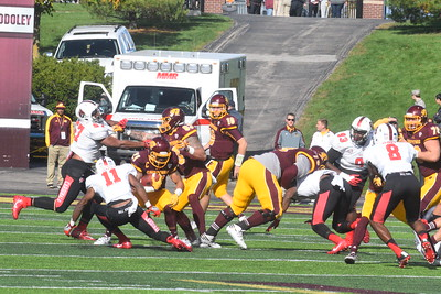 CMU played host to Ball  State on homecoming Saturday, Oct. 8, 2016 from Kelly/Shorts Stadium in Mt. Pleasant. (Photos by JIM LAHDE)