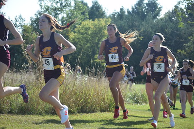 CMU hosted the 32nd annual Jeff Drenth Memorial Invite at Pleasant Hills Golf Course Friday. (Sun Photos by JIM LAHDE)