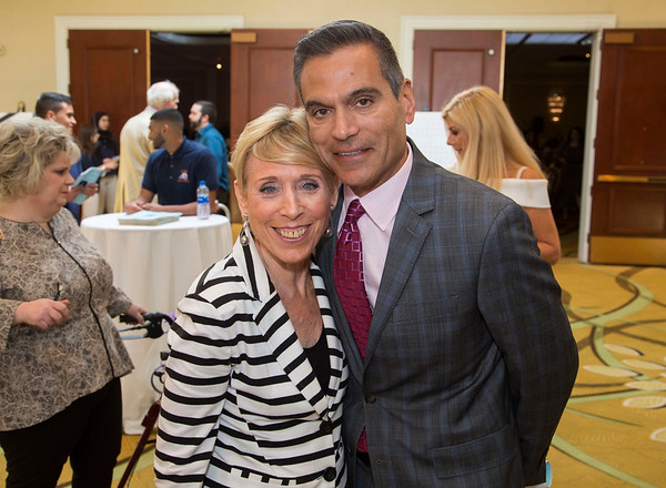 Holy Name Medical Center Foundation presents the 21st Annual Spring Fashion Fling, a luncheon, auction and fashion show to benefit the Holy Name Medical Center MS Center Sunday, April 29, 2018 at the Glenpointe Marriott • Teaneck, New Jersey. Photo by Jeff Rhode / Holy Name Medical Center