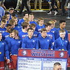 Chippewa Hills fell to Dundee 28-22 in D3 semifinal action Saturday from McGuirk Arena. (PHOTOS BY JIM LAHDE -- MIPREPZONE.COM)