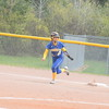 Clare swept host Harrison Thursday, May 4, 2017, by scores of 11-0 and 10--0 in five innings each. MIPrepZone Photos by Nate Schneider.