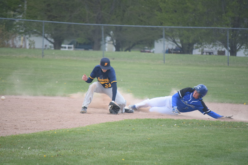 Breckenridge swept two games from Coleman Friday to improve to 8-0 in MSAC play. (PHOTOS BY JIM LAHDE -- MIPREPZONE.COM)