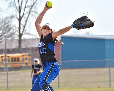 Coleman swept a doubleheader from Breckenridge at the Comets' field Tuesday, May 1, 2018. (Sun photo gallery by Skip Traynor)