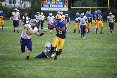 Harrison scored on seven of its first eight possessions Friday en route to a win over Farwell. (Sun Photos by JIM LAHDE)