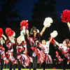 St. Louis' pompon squad performs at halftime as they host Hemlock Friday, September 16, 2016.(PHOTOS BY KEN KADWELL -- FOR MIPREPZONE.COM).