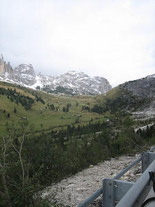 Stage 1: A view from the Passo Gardena...I think.