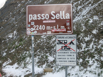 Stage 1: Top \'o the Sella. One pass down....three to go!